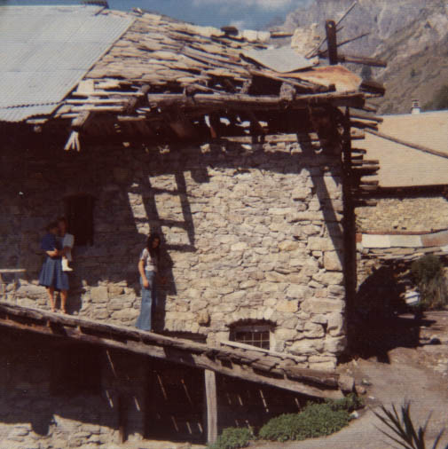 La maison de mes grands-parents en 1977