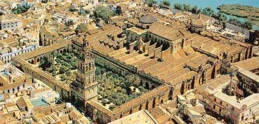 Vue générale de la mosquée-cathédrale de Cordoue