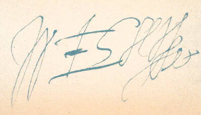 Une signature de Shakespeare (source : Wikipedia).