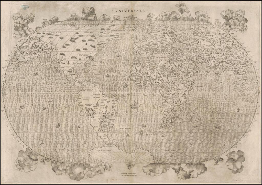 Giacomo Gastaldi - Universale Cosmographo, 1546 (source : flickr)