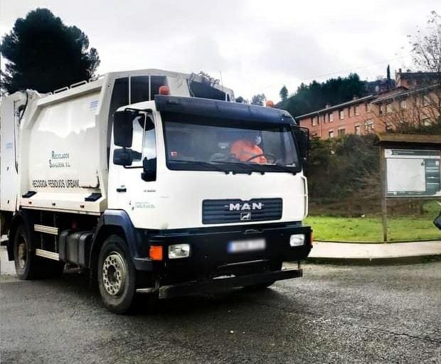 AVISO: Los camiones de recogida de residuos no van a llegar hoy a todos los puntos de la Comarca de Sangüesa