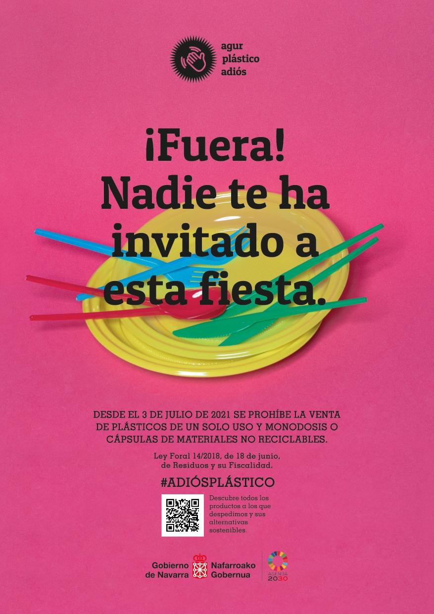 Adiós, plásticos de un solo uso: desde el 3 de julio queda prohibida su venta en Navarra