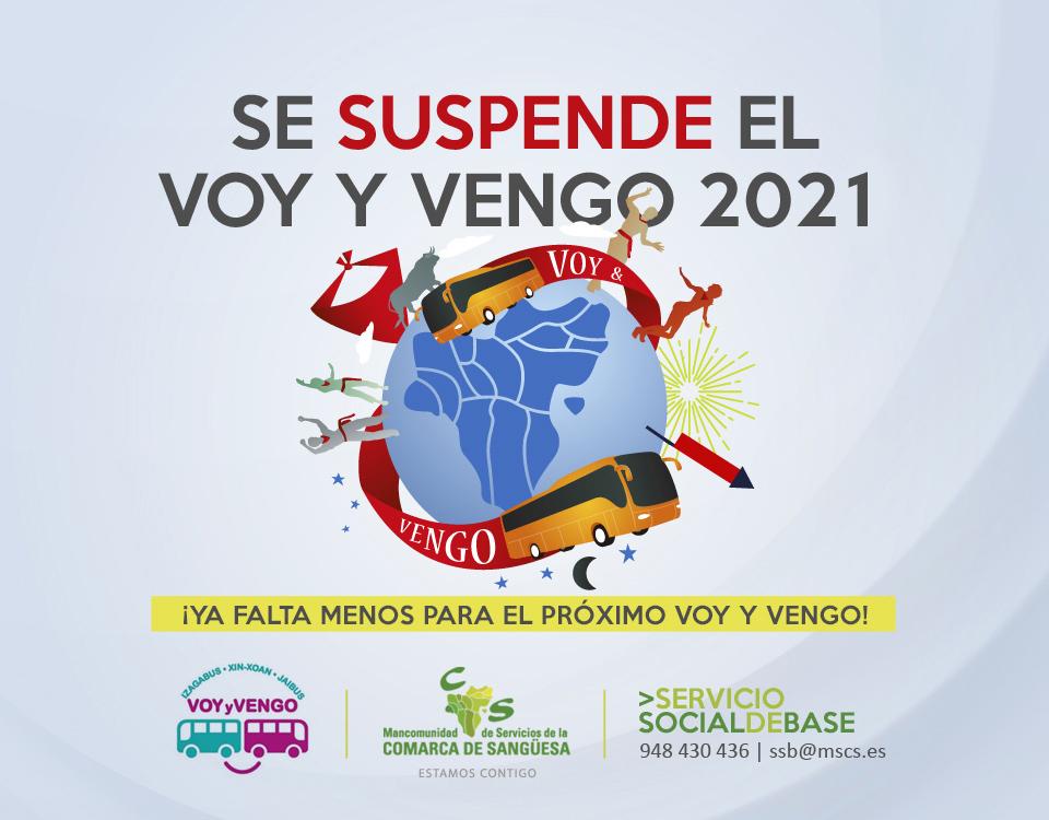 Se suspende el Voy y Vengo 2021