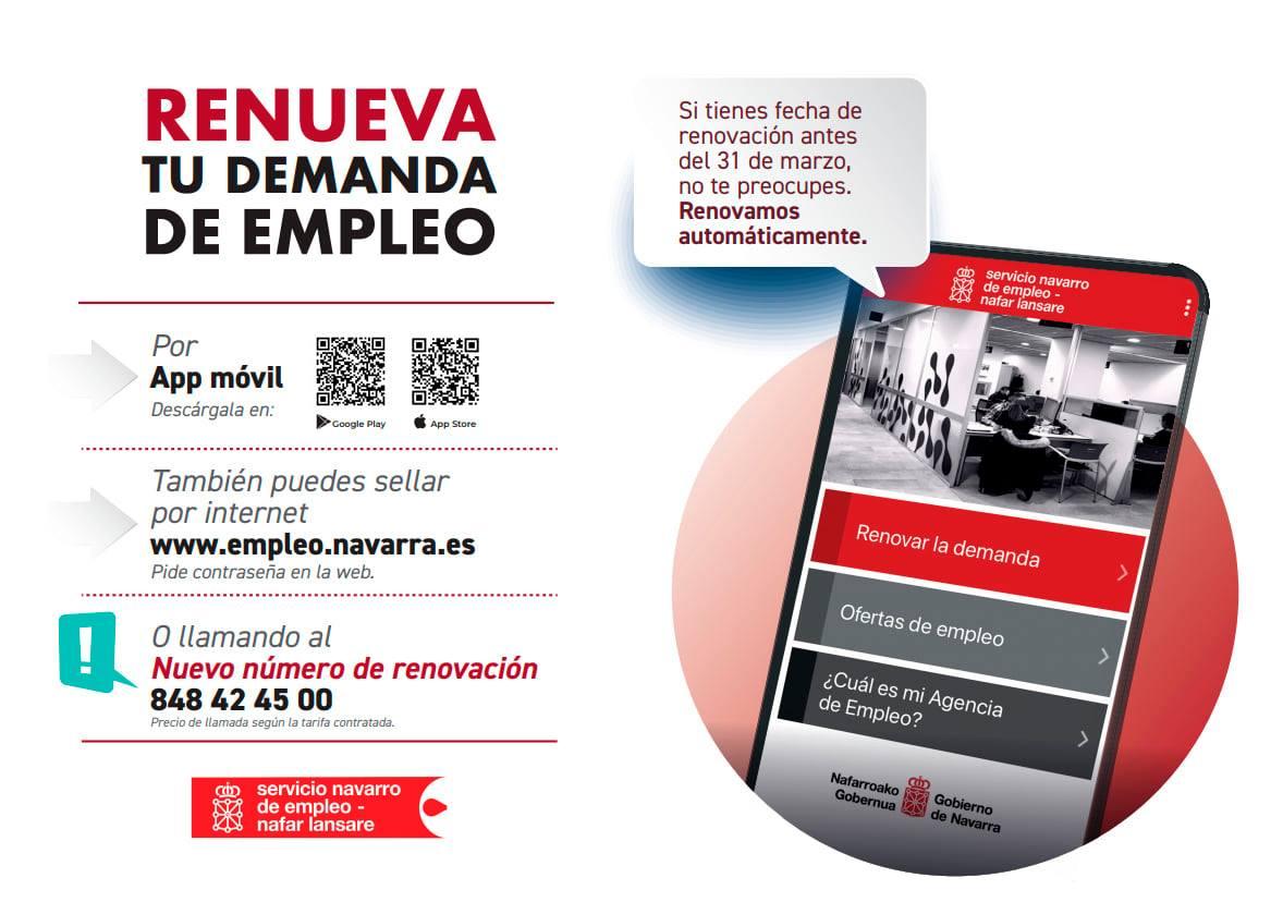 El SNE va a renovar de oficio la demanda de empleo a las personas que tienen fecha anterior al 31 de marzo