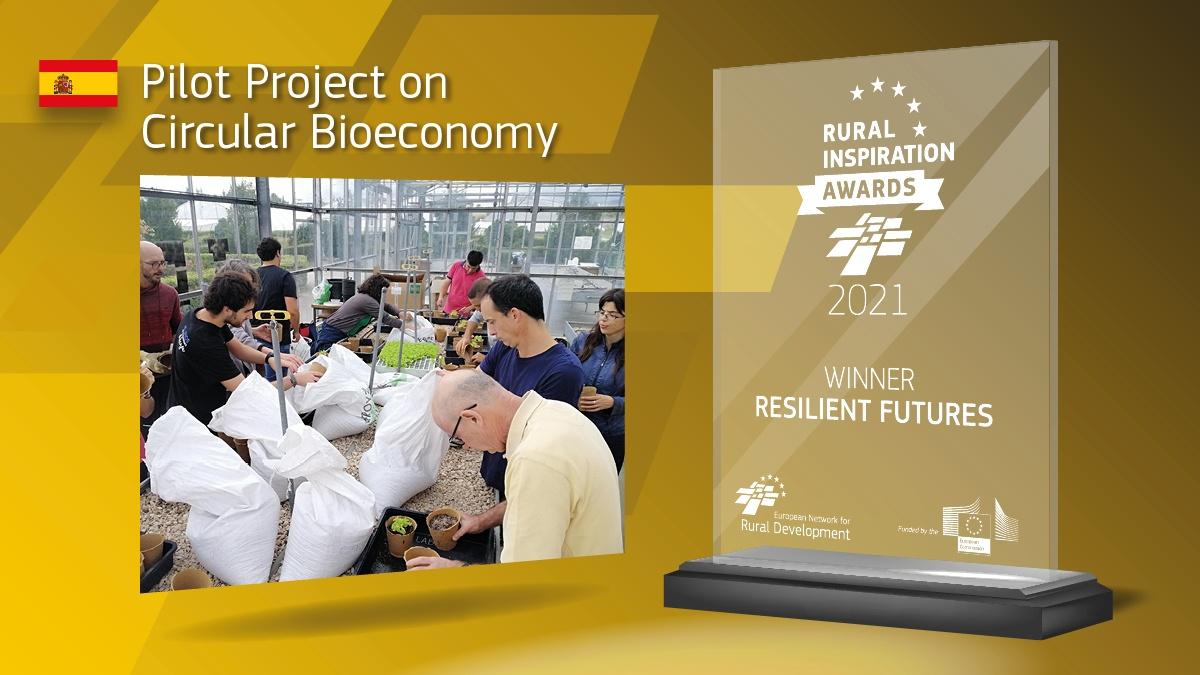 El proyecto de 'Bioeconomía Circular a Escala Local' de Josenea, ganador del premio 'Futuro Resiliente'
