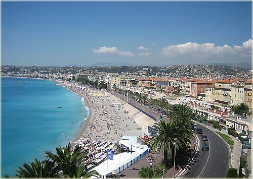 NICE - Baie des Anges - Promenade des Anglais