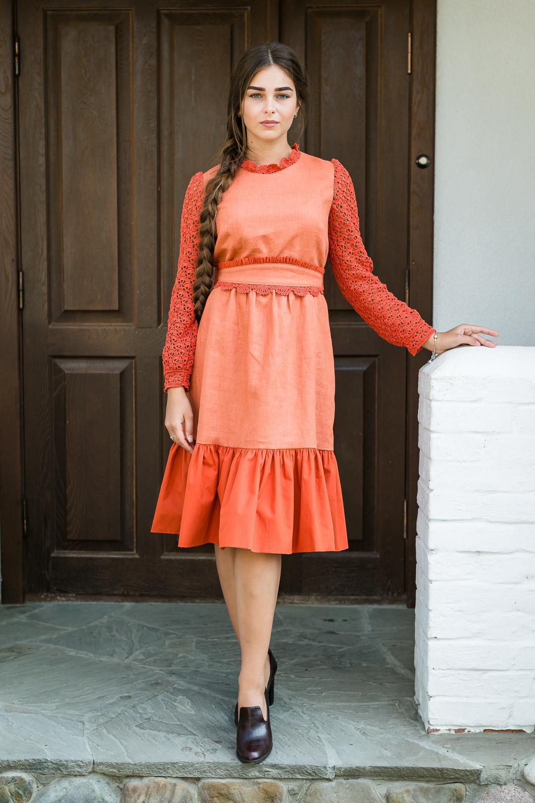 платье в русском стиле, руский стиль, руская одежда