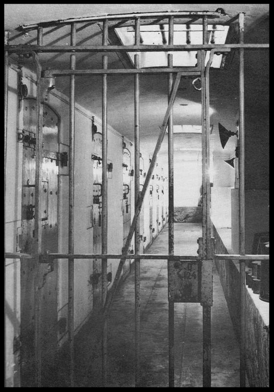 De bunker strafcellen Gevangenis Leeuwarden