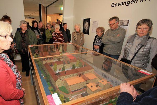 Maquette op reis 25 februari 2017 Museum Heerenveen