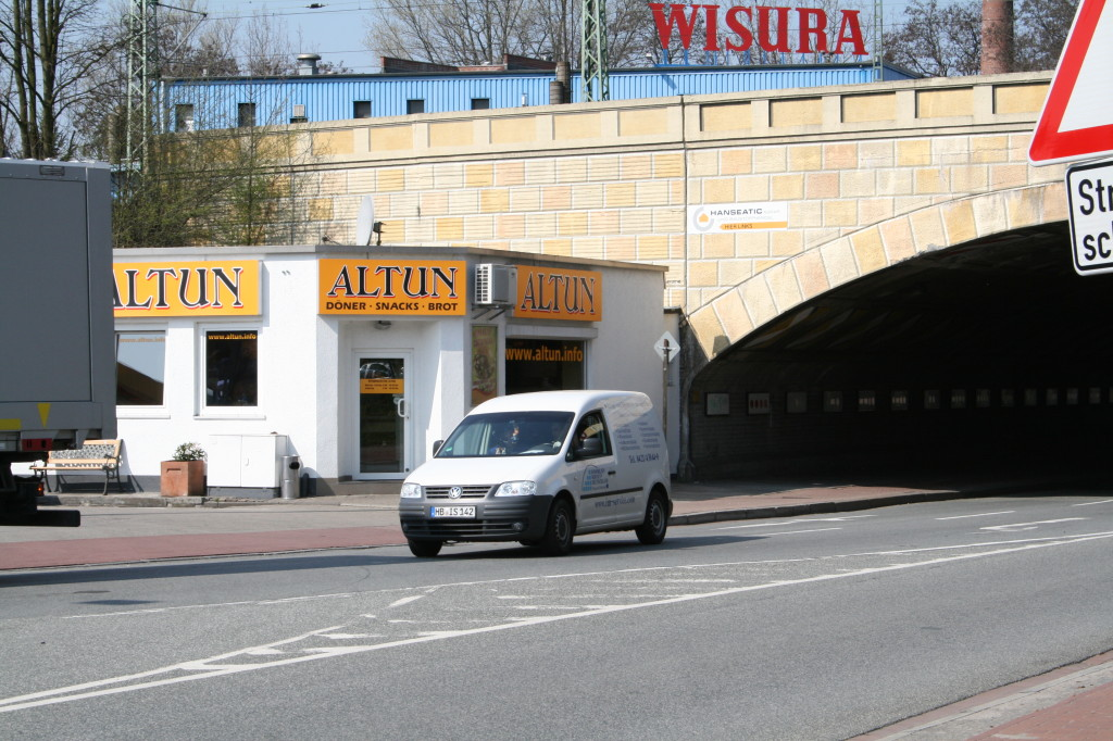 Von meiner Wohnung in Pusdorf bis Altun lockere 25 Minuten, im Tunnel noch die Kunstausstellung angeschaut