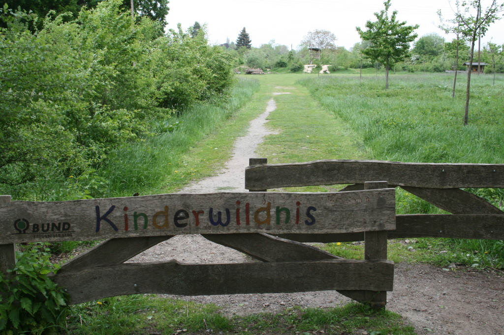 weiter über den schönsten Spielplatz Bremens: die Kinderwildnis