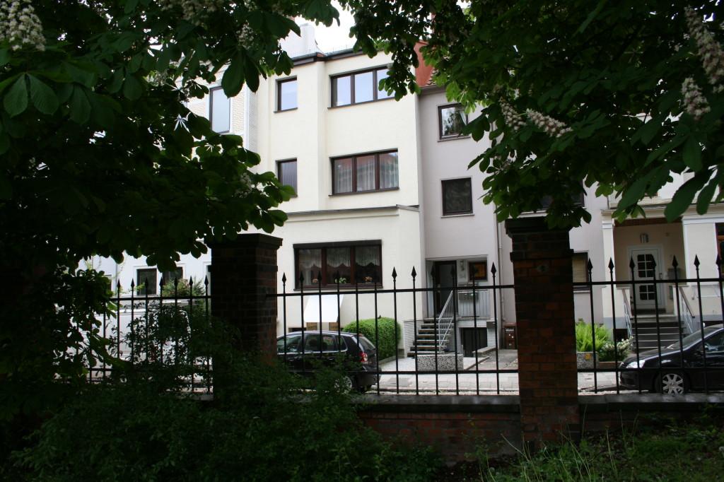Neustadtscontrescarpe - schöne Häuser