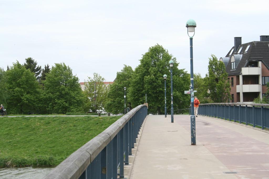 Deichschartbrücke - rüber Richtung Kuhhirten