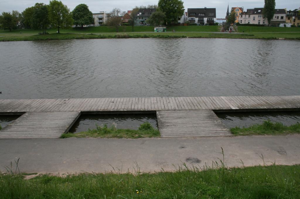 Am Werdersee - wo sind die Ruderer?