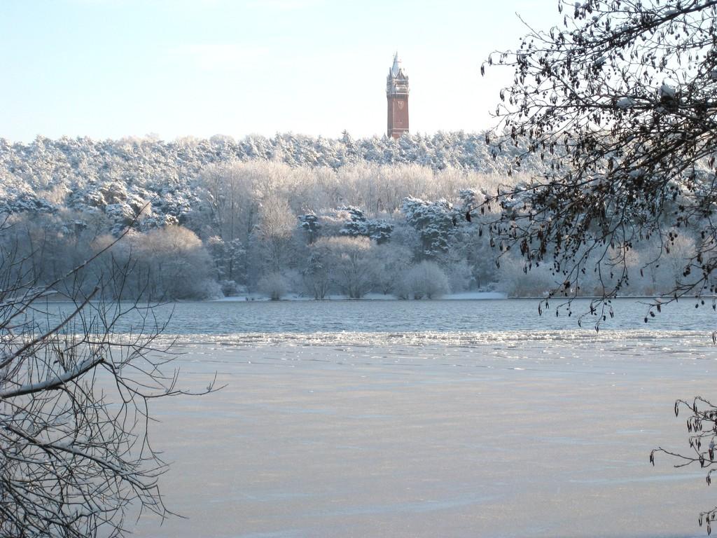 Der Grunewaldturm Januar 2009