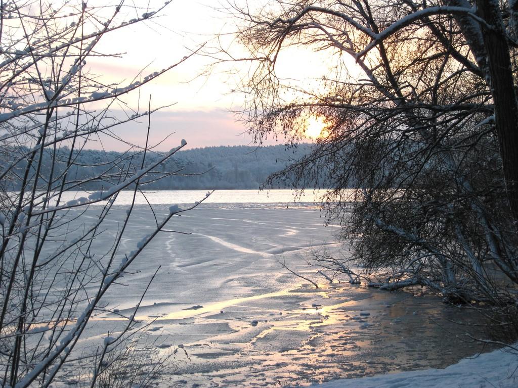 Sonnenaufgang Havel 5.Januar 2009