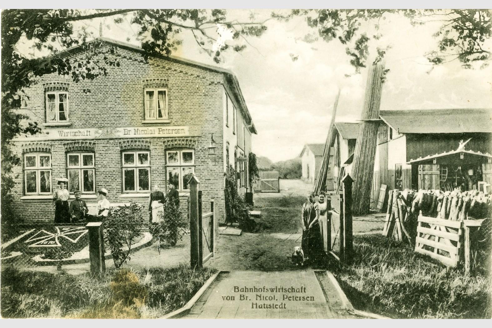Meiereiweg 15a:Poststelle und Gaststätte