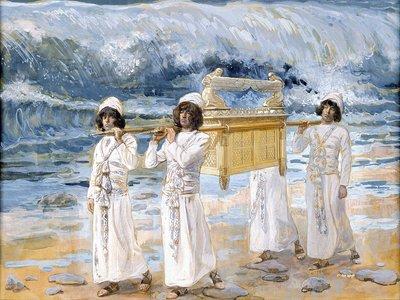James Tissot, 1902: The Ark Passes Over the Jordan