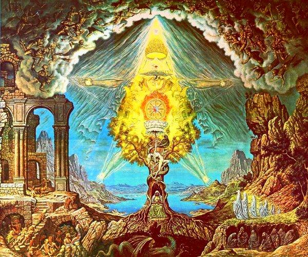 Johfra Bosschart, 1973: Unio Mystica