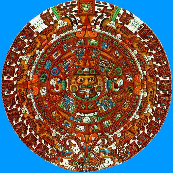 Various Authors The Aztec Sun Stone Alles Wissenswerte Ber