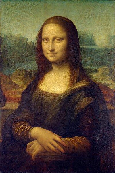 Leonardo da Vinci, 1503: Mona Lisa (La Gioconda)