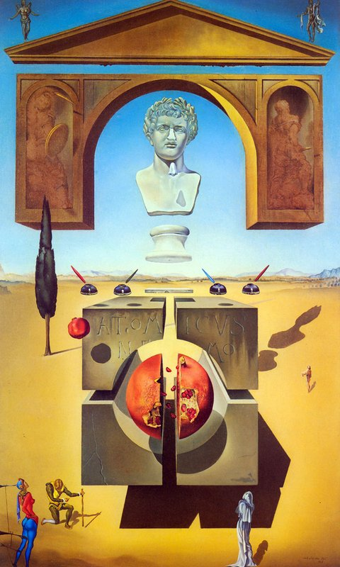 Salvador Dalí, 1947: Dematerialization Near the Nose of Nero