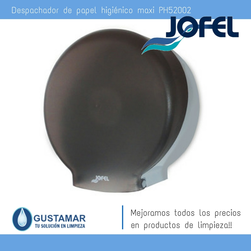 Despachador  / Dispensador de Papel Higiénico Institucional para Baño Jofel PH52002