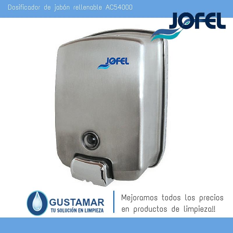 Jaboneras / Dosificadores Jofel AC54000
