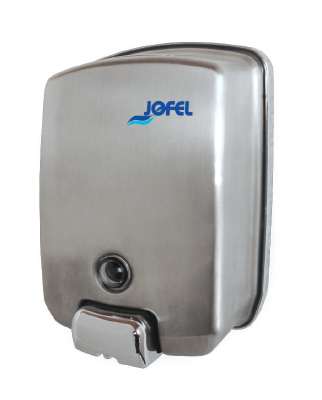 Jabonera rellenable ac54000 jofel gustamar for Dispensador de jabon de pared