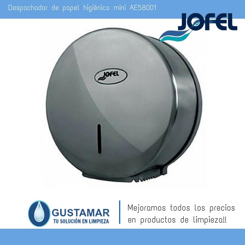 Despachador / Dispensador  de Papel Higiénico Institucional para Baño Jofel AE58001