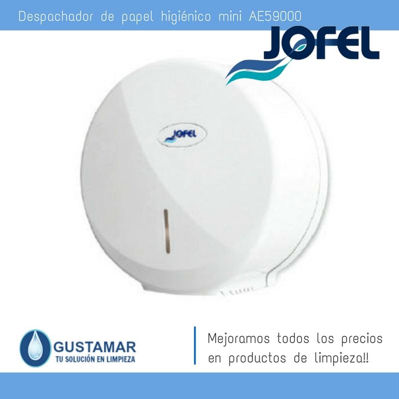 Despachador / Dispensador  de Papel Higiénico Institucional para Baño Jofel AE59000