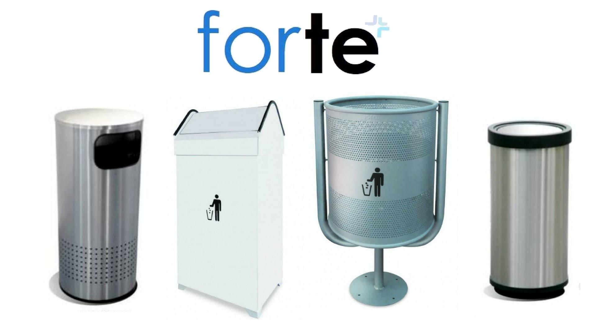 Botes de basura, contenedores, cestos y papelera FORTE