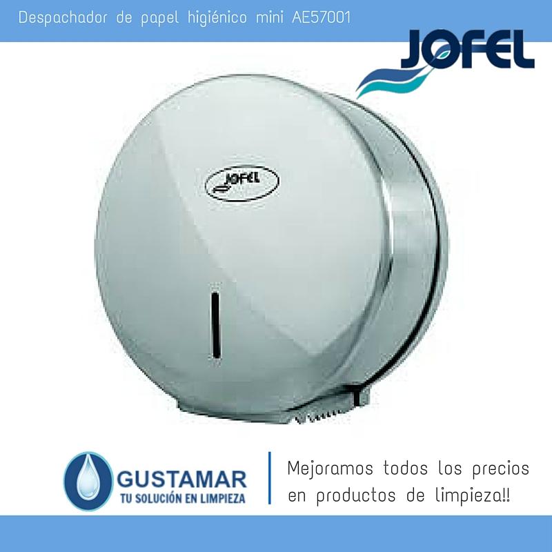 Despachador / Dispensador  de Papel Higiénico Institucional para Baño Jofel AE57001