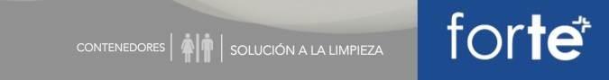 FORTE: Contenedores cilíndricos
