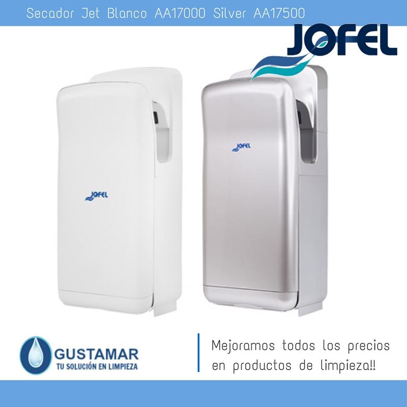 SECADORES DE MANOS/ SECAMANOS SILVER JET AA17500 JOFEL