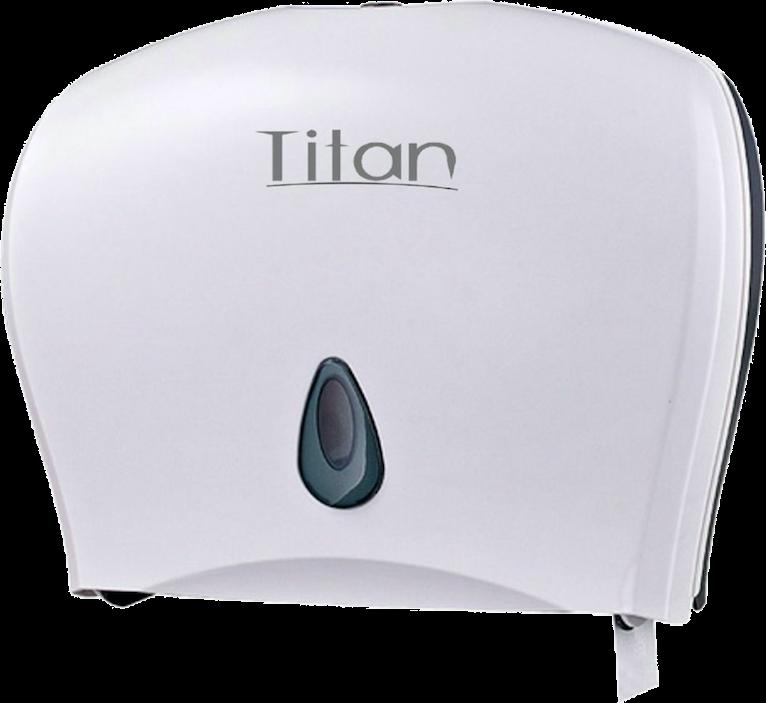 8003W Dispensador de papel higiénico Jumbo White. Medidas: 508X125X292 mm