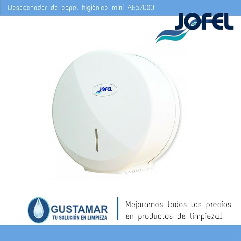 Despachador / Dispensador  de Papel Higiénico Institucional para Baño Jofel AE57000