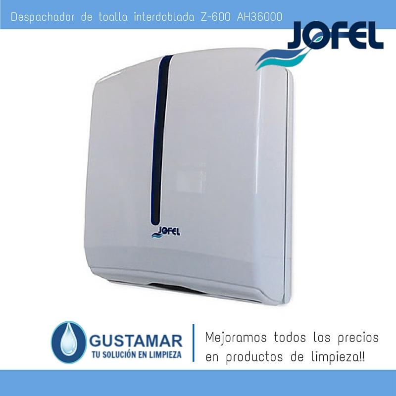 Despachador /Dispensador de Toalla Interdoblada Atlántica Jofel AH36000 Z-600