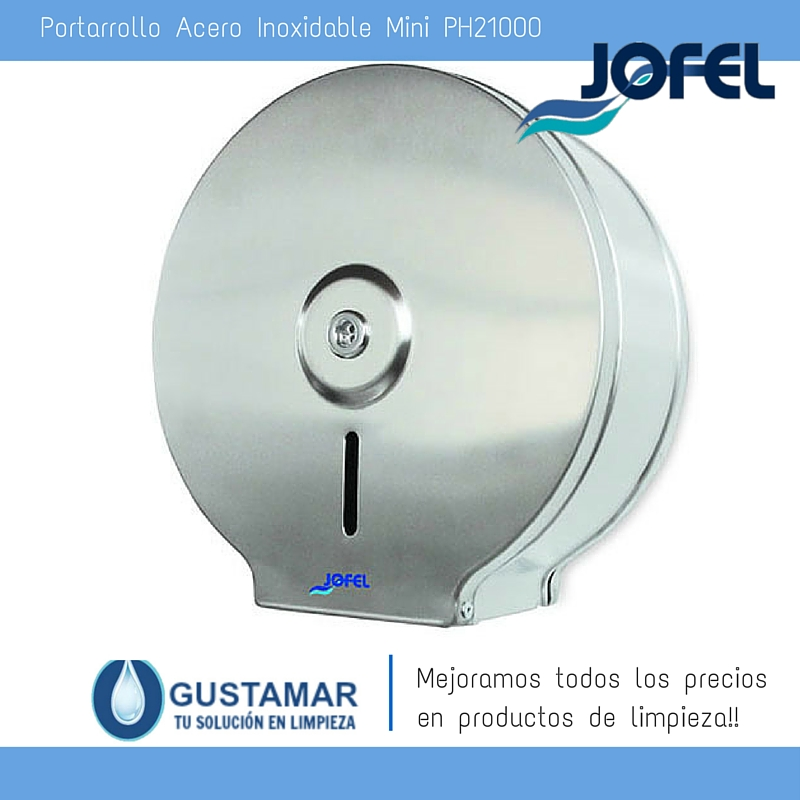 Despachador / Dispensador  de Papel Higiénico Institucional para Baño Jofel PH21000