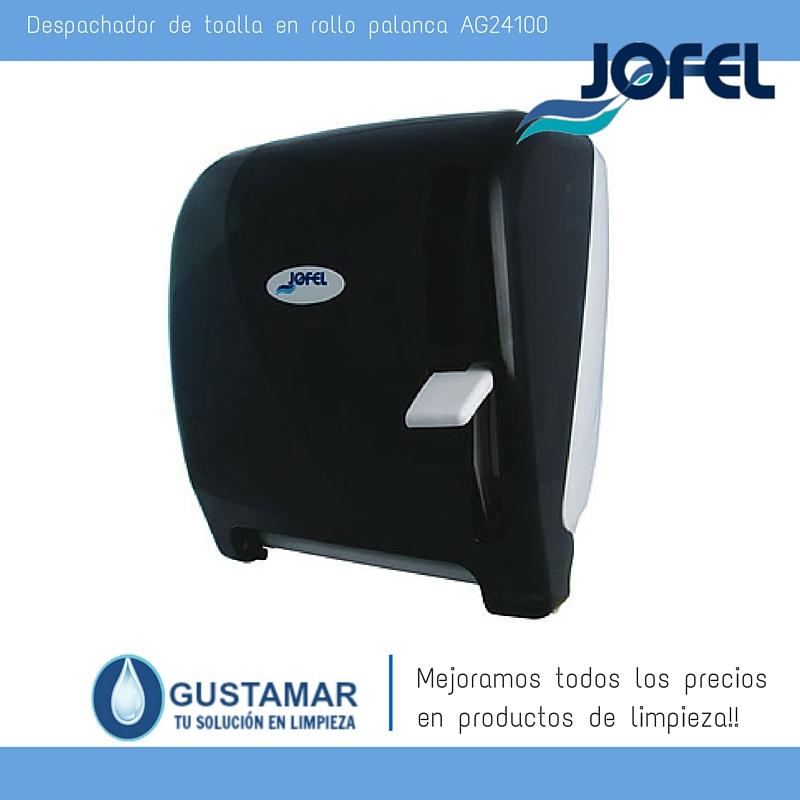 Despachadores / Dispensadores /Dosificadores / Toalla en Rollo / Toalla de papel / Papel en Rollo Futura AG24100 Palanca Manual JOFEL