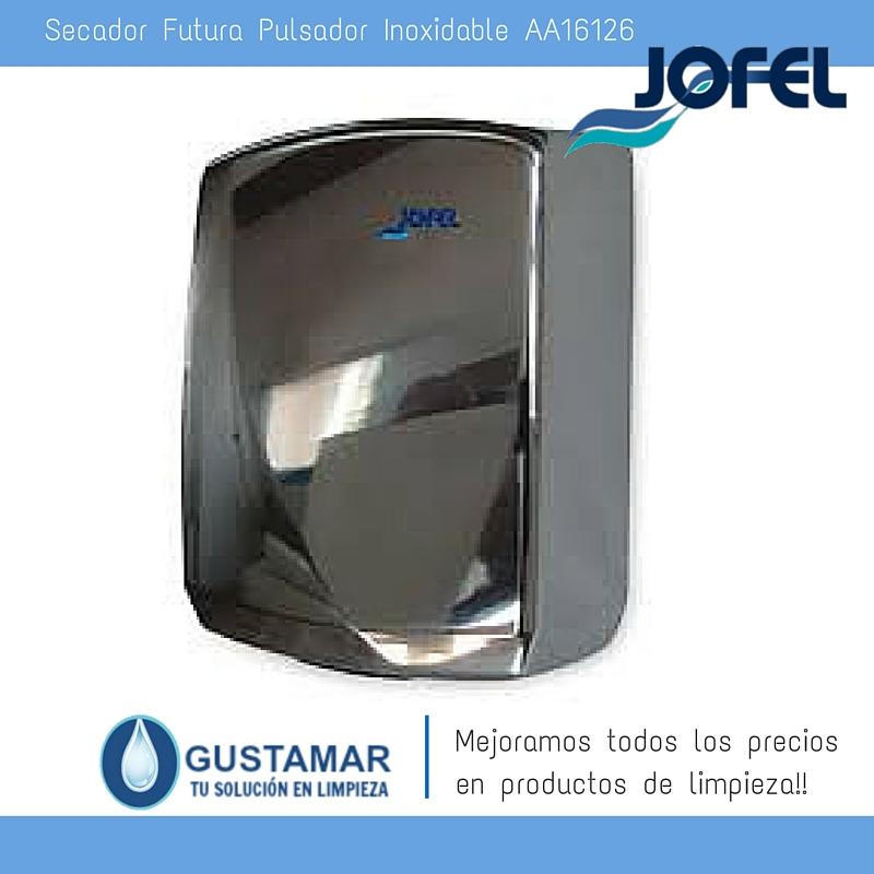 SECADORES DE MANOS JOFEL / SECAMANOS FUTURA INOXIDABLE ÓPTICO AA16126 JOFEL