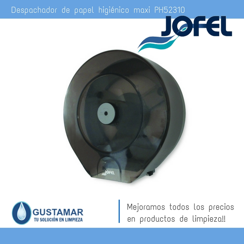 Despachador / Dispensador  de Papel Higiénico Institucional para Baño Jofel PH51310