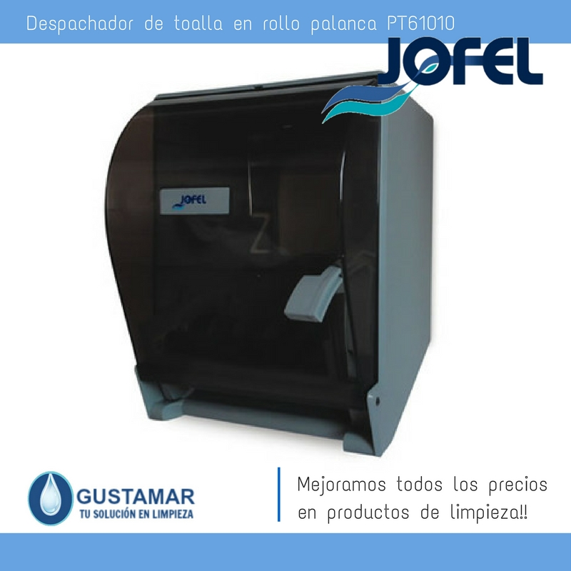Despachadores / Dispensadores /Dosificadores / Toalla en Rollo / Toalla de papel / Papel en Rollo Altera PT61010 Palanca Manual JOFEL