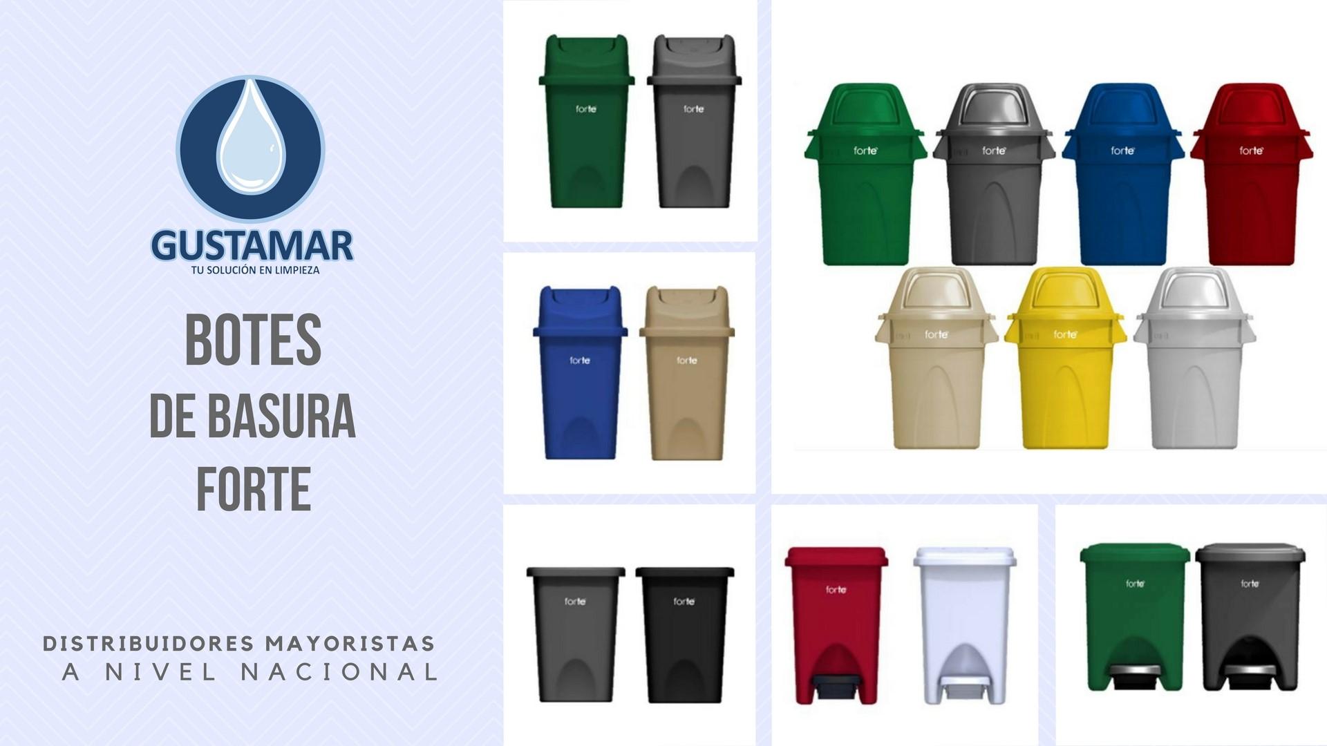 BOTES DE BASURA / BASUREROS FORTE