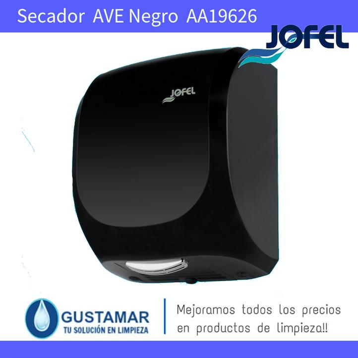 SECADORES DE MANOS JOFEL / SECAMANOS AVE NEGRO ÓPTICO AA19626 JOFEL