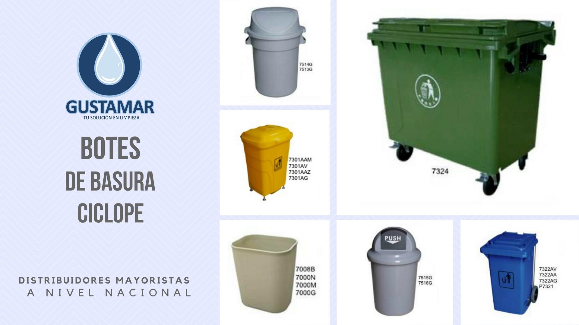BOTES DE BASURA / BASUREROS CÍCLOPE