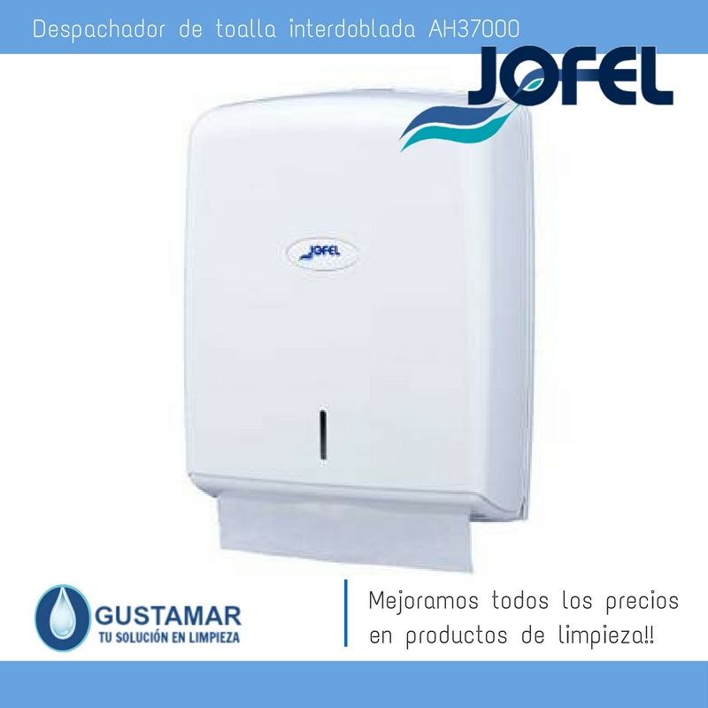 Despachador /Dispensador de Toalla Interdoblada Smart Jofel AH37000 Z-600