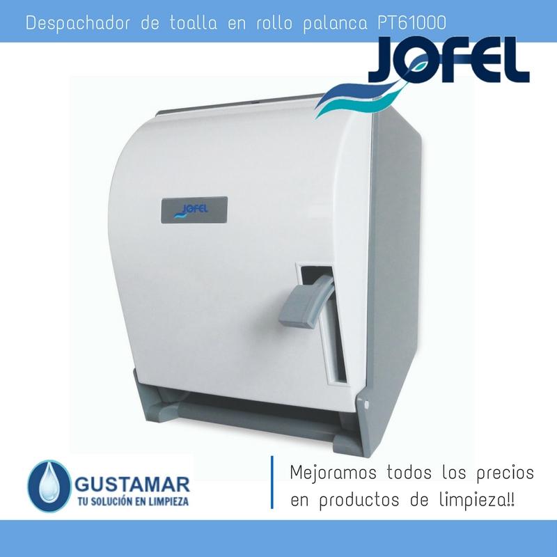 Despachadores / Dispensadores /Dosificadores / Toalla en Rollo / Toalla de papel / Papel en Rollo Altera PT61000 Palanca Manual JOFEL