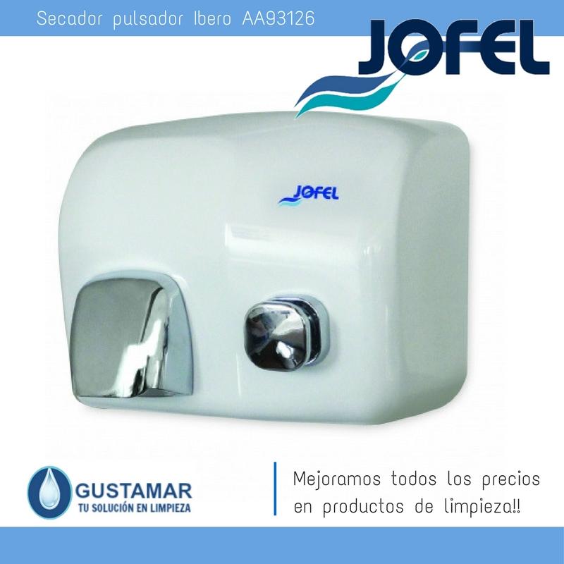 SECADORES DE MANOS JOFEL / SECAMANOS IBERO PULSADOR AA93126 JOFEL