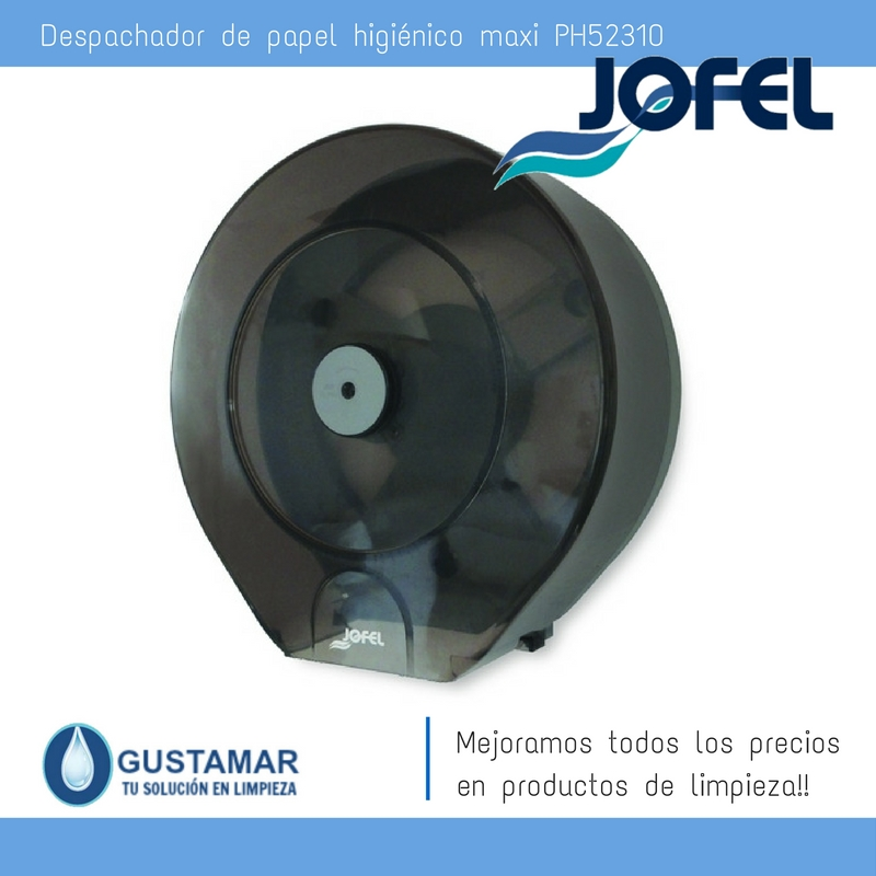 Despachador / Dispensador  de Papel Higiénico Institucional  para Baño Jofel PH52310